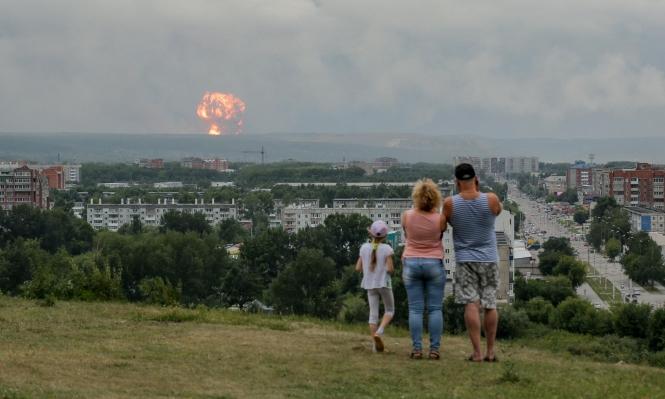 روسيا: قتيلان وإصاباتٌ في انفجار بإحدى الوحدات العسكرية