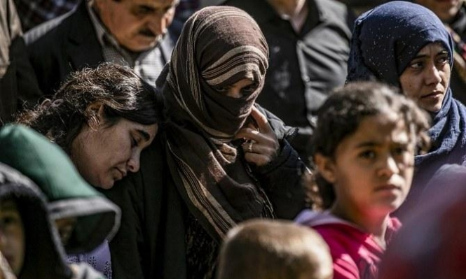 فرنسا تستقبل مجموعة جديدة من النساء الإيزيديات وأطفالهن
