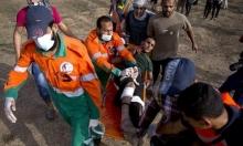 غزة: إصابة شابين برصاص الاحتلال شرق خان يونس