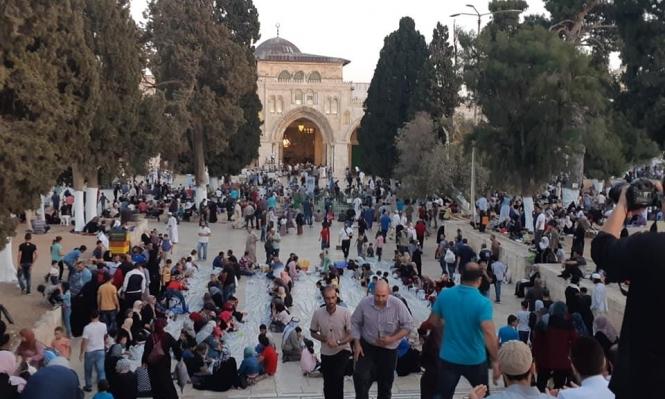 ردا على الاحتلال: صلاة العيد موحدة وجامعة بالمسجد الأقصى