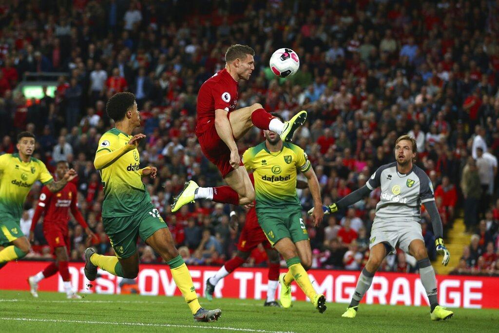 ليفربول يفتتح البريمييرليغ بفوز عريض