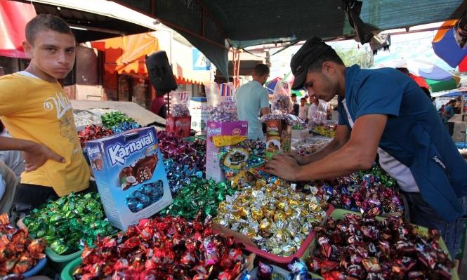 """""""شوكلاطة العيد"""" في أسواق غزة"""