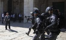 """""""المشتركة"""" تدين عدوان الاحتلال على المصلين في الأقصى"""