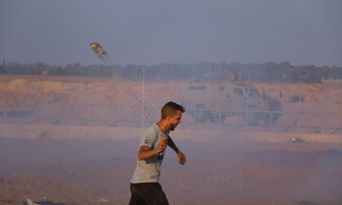غزة: تشييع جثمان فلسطيني استشهد برصاص الاحتلال