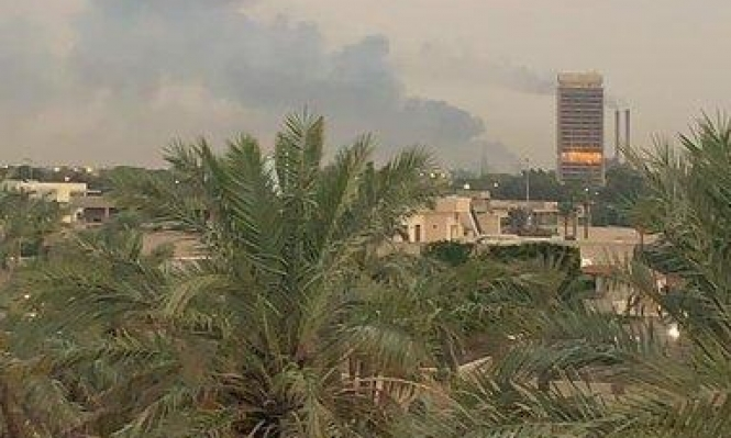 """انفجار """"غامض"""" في قاعدة عسكرية للحشد الشعبي جنوبي بغداد"""