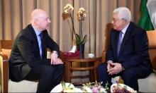 غرينبلات: لا نسعى لاستبدال عباس