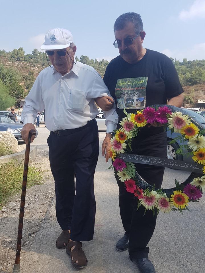 بعد سبعين عامًا من المنع: سلوى سالم تزور قبر والدها