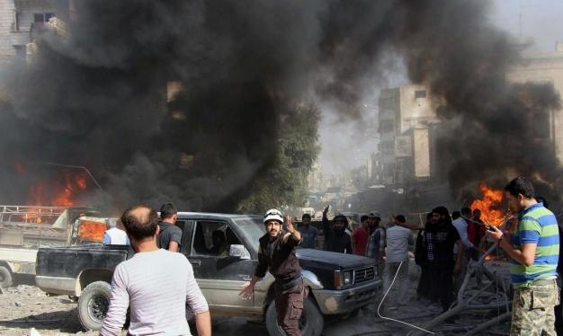 60 قتيلا في اشتباكات بين النظام السوري وفصائل مسلحة بإدلب