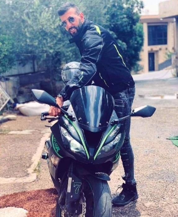 مصرع معاد غانم من ساجور إثر انزلاق دراجته النارية