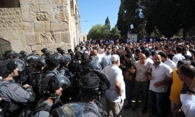 صبري: تصريحات إردان تؤكد نية الاحتلال للسيطرة على الأقصى