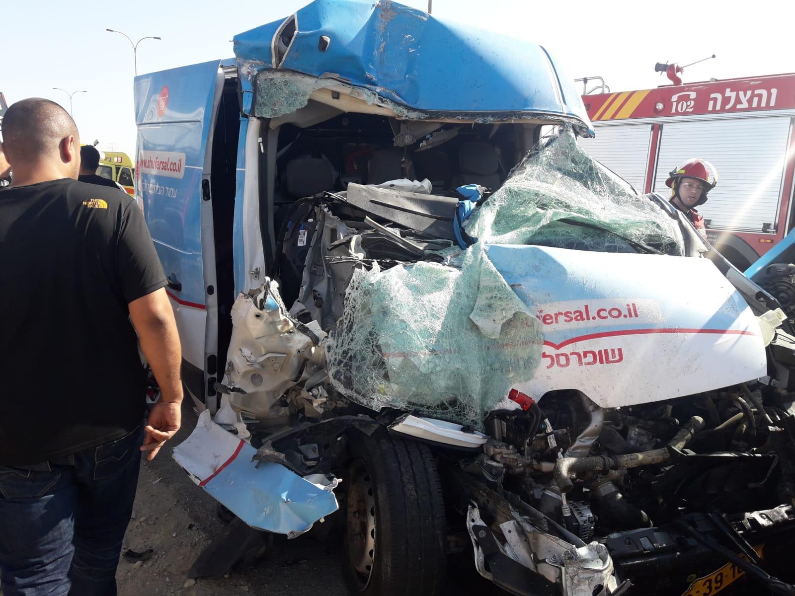 5 إصابات في حادثي طرق قرب المزرعة وبئر السبع