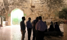المشتركة: نطالب بفتح بوابات الأقصى فورا وحكومة الاحتلال تتحمل المسؤولية