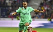 إصابة هازارد تثير قلق ريال مدريد