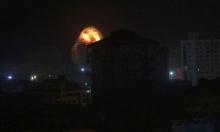 """حماس تعتبر القصف الإسرائيلي """"رسالة تصعيد وعدوان"""""""