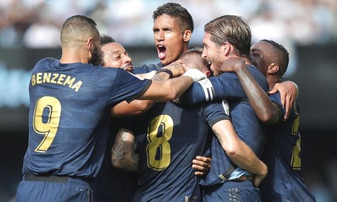 ريال مدريد يفتتح الدوري بالفوز على سيلتا فيغو
