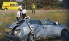 مصرع شاب وإصابة 3 في حادث طرق قرب طبرية