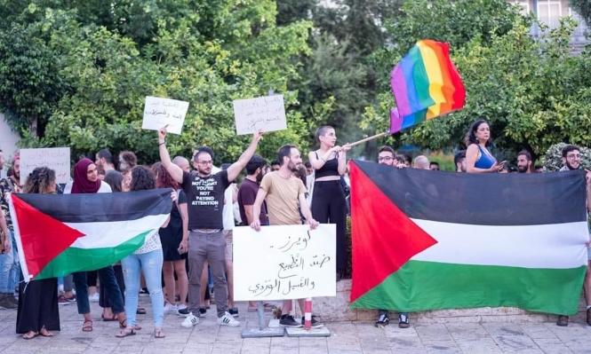 """#نبض_الشبكة: بيان الشرطة الفلسطينية ضد """"القوس"""" يحرض على العنف"""