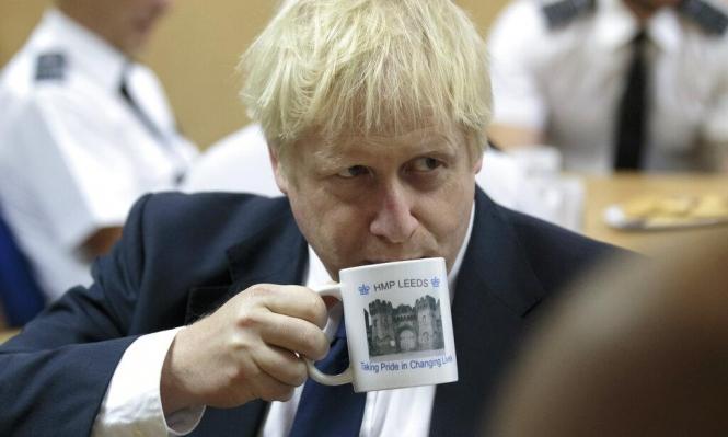 جونسون يلغي سريان قوانين الاتحاد الأوروبي في بريطانيا