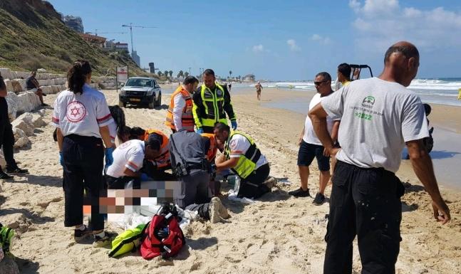 مصرع ستيني غرقا في شاطئ قرية أم خالد المهجرة