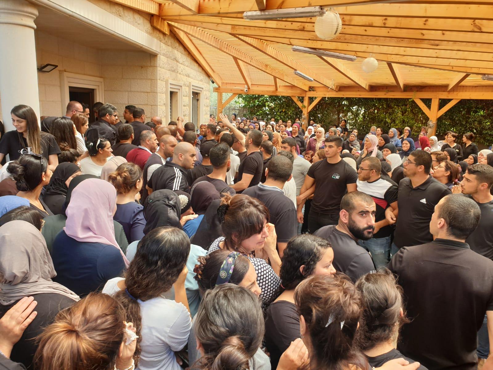 عرابة: تشييع الطالبة الجامعية آية نعامنة