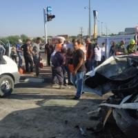 14 إصابة بينها خطيرة في حادث طرق قرب قلنسوة