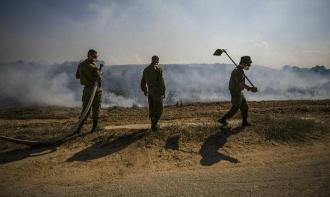 الاحتلال يقصف موقعا غرب مدينة غزة
