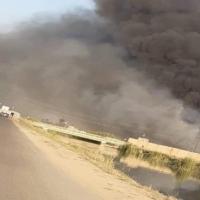 الحشد الشعبي يستهدف مُسيّرة حلقت فوق قاعدة عسكرية قرب بغداد