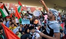 """لبنان: إضراب شامل واحتجاجات متواصلة في المخيمات الفلسطينية رفضا لـ""""تصاريح العمل"""""""