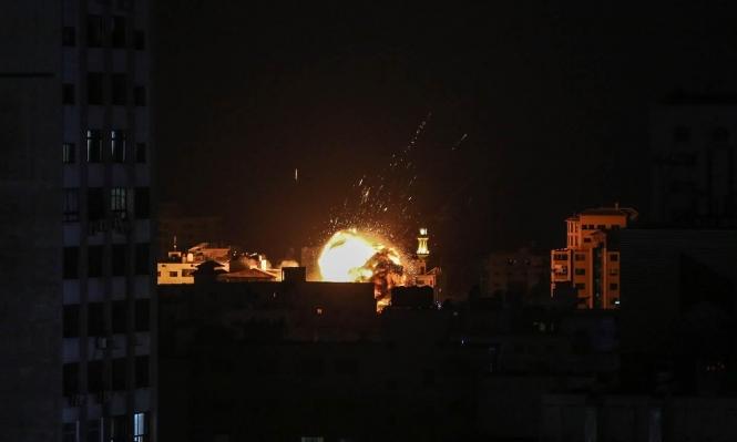 الاحتلال يستهدف مواقع في قطاع غزة ثانية