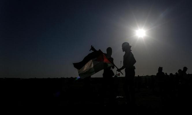 غزة: تحشيد فلسطيني وتهديد إسرائيلي ومصاب شرقي القطاع