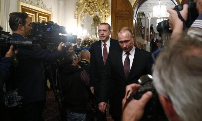 """اتصال إردوغان - بوتين: """"محاربة الإرهاب"""" في إدلب دون تعريفه"""