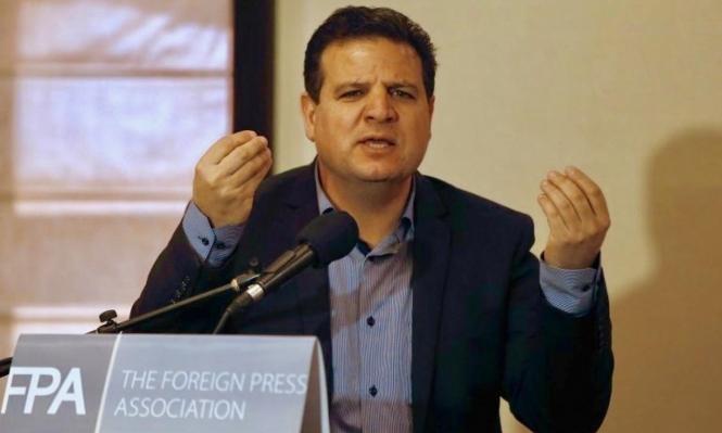 """هل حقًا اشترط أيمن عودة """"دولة فلسطينية"""" للانضمام لحكومة غانتس؟"""