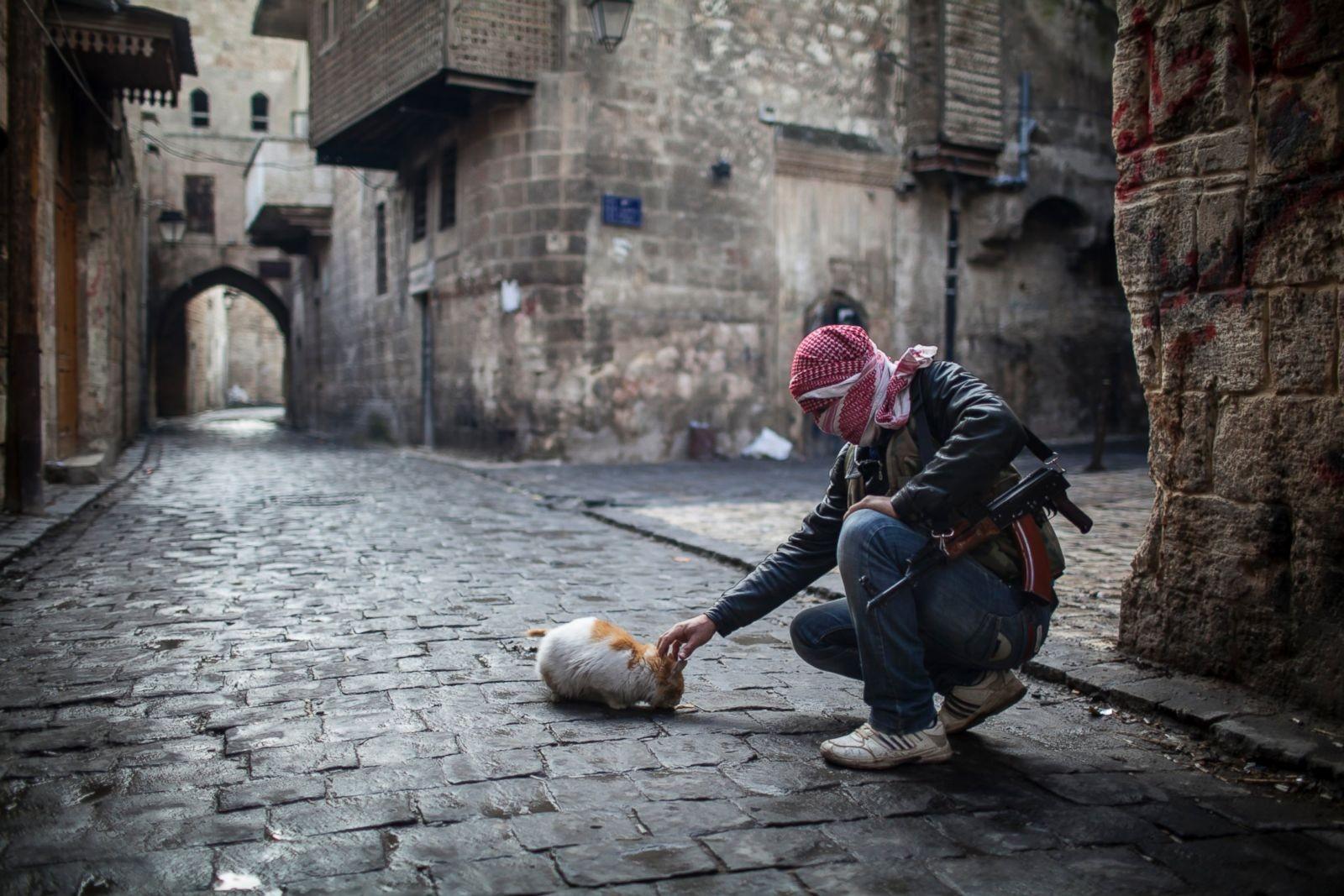ما الذي من الممكن أن أفعله للحرب في سورية؟ (أ ب)