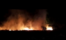 """إطلاق قذائف صاروخية على مستوطنات """"غلاف غزة"""""""