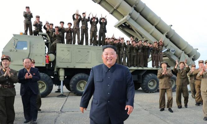 زعيم كوريا الشمالية يشرف على اختبار قاذفة صواريخ عملاقة