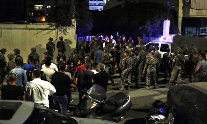 غارة إسرائيلية على موقع في لبنان