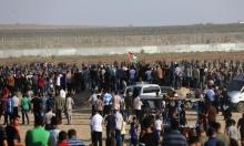 الاحتلال يغير  على غزة بعد إطلاق قذيفة