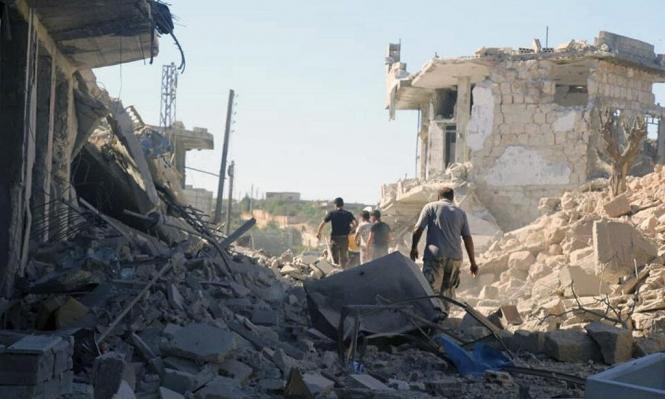 تصعيد الهجوم على إدلب يسبق قمة بوتين إردوغان