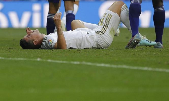 ريال مدريد يكشف حجم إصابة خاميس