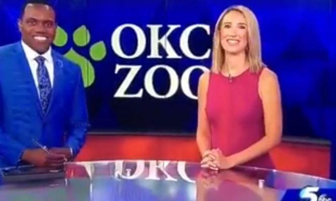 """مذيعة أميركية بيضاء تعتذر لزميلها الأسود بعد تشبيهه بـ""""القرد"""""""