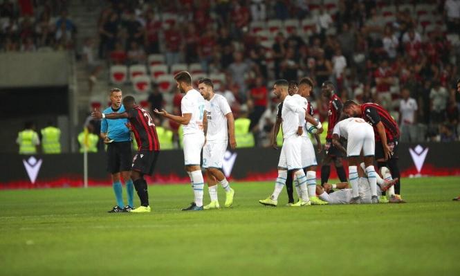 توقف مباراة مرسيليا ونيس بسبب هتافات كراهية ضد المثليين