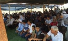 النقب: صلاة جمعة حاشدة رفضا لتجريف مقبرة خشم زنة