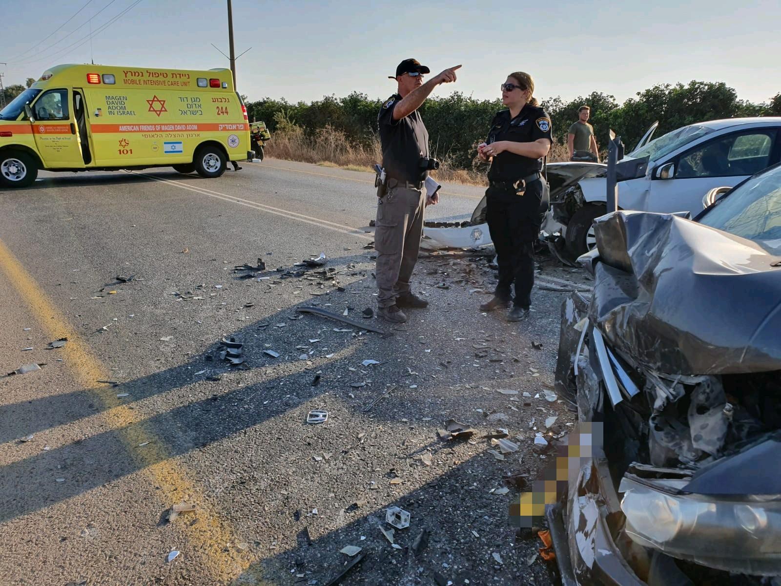 الزرازير: 10 إصابات في حادث طرق بينها 3 خطيرة