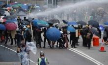هونغ كونغ: مواجهات عنيفة بين محتجين وقوات الشرطة