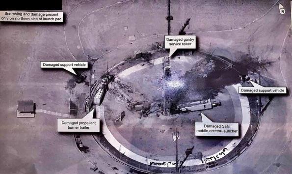 مسؤول إيراني: القمر الصناعي سليم رغم فشل إطلاقه