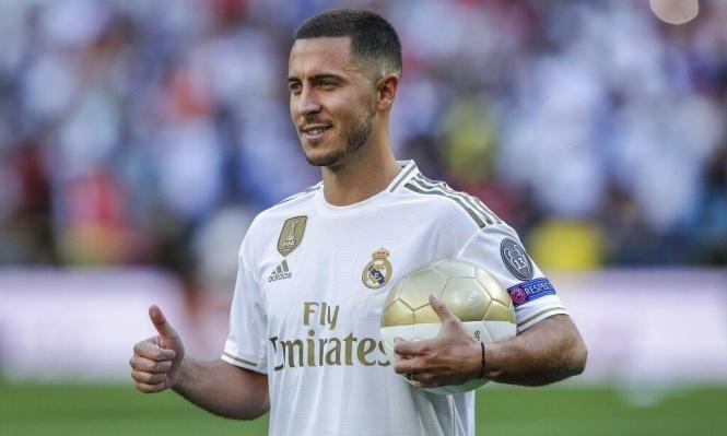هازارد يعود لتدريبات ريال مدريد