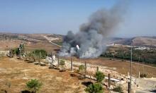 إطلاق قذائف من لبنان نحو موقع ومركبة عسكريين إسرائيليين