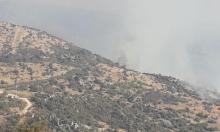 جنوبي لبنان: استهداف إسرائيلي يسفر عن اندلاع حرائق