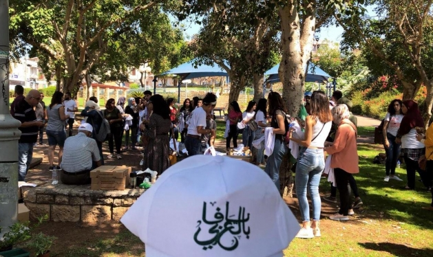 أكثر من 100 طالب جامعي في يوم تطوعي ثقافي في يافا