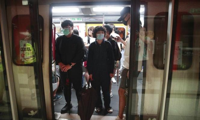 هونغ كونغ: متظاهرون يحاولون تعطيل القطارات ويدعون للإضراب